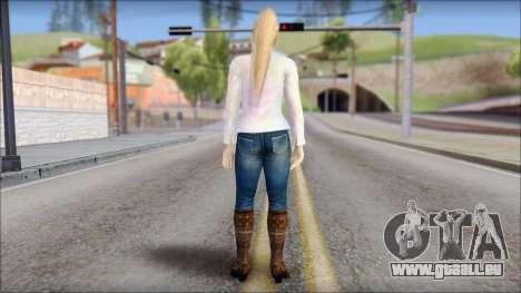 Sarah from Dead or Alive 5 v4 für GTA San Andreas zweiten Screenshot