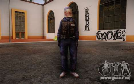 British Riot Police from Killing Floor pour GTA San Andreas