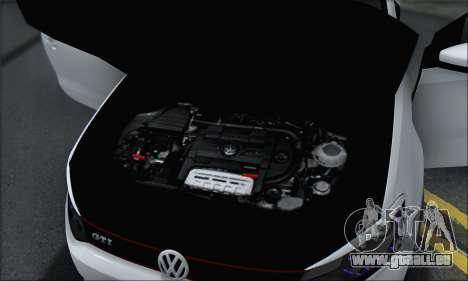Volkswagen Polo für GTA San Andreas Unteransicht