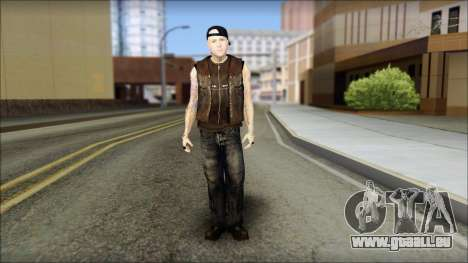 Benji from Good Charlotte pour GTA San Andreas