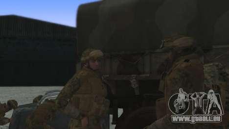 Le commandant de la conférence etats-unis pour GTA San Andreas deuxième écran