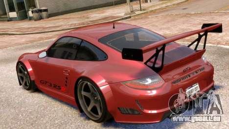 Porsche 911 GT3RSR pour GTA 4 est une gauche