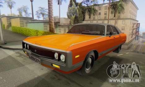 Chrysler New Yorker 1971 pour GTA San Andreas vue de droite