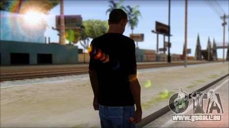 Destroyers T-Shirt Mod für GTA San Andreas zweiten Screenshot