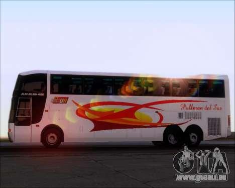 Busscar Jum Buss 400 Volvo B10R Pullman Del Sur für GTA San Andreas Motor