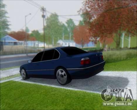 BMW 7 E38 für GTA San Andreas linke Ansicht