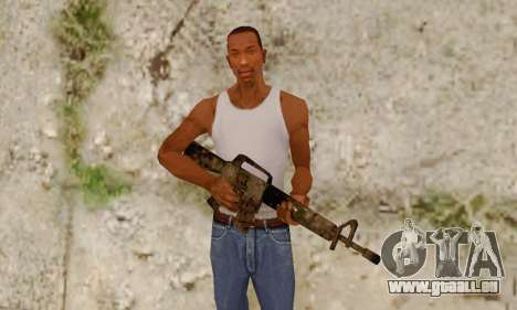 Cutscene M16 from Stowaway Conversion pour GTA San Andreas