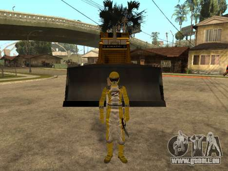 Power Rangers Operation Overdrive für GTA San Andreas dritten Screenshot