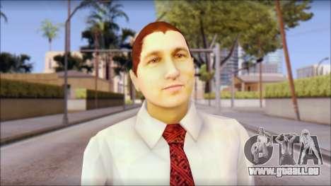 Dean from Good Charlotte für GTA San Andreas dritten Screenshot