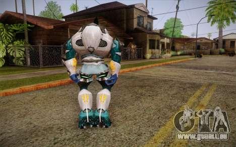 White Elite v2 pour GTA San Andreas deuxième écran