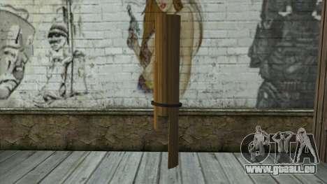 Senjata Kentongan Sahur pour GTA San Andreas deuxième écran