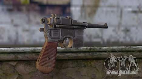 Mauser C-96 pour GTA San Andreas deuxième écran