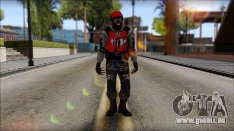 Peng Thug pour GTA San Andreas deuxième écran