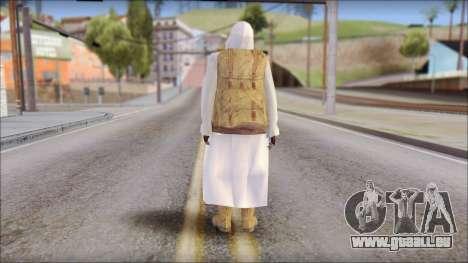 Arabian Skin pour GTA San Andreas deuxième écran