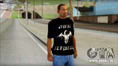 A7X Waking The Fallen Fan T-Shirt für GTA San Andreas