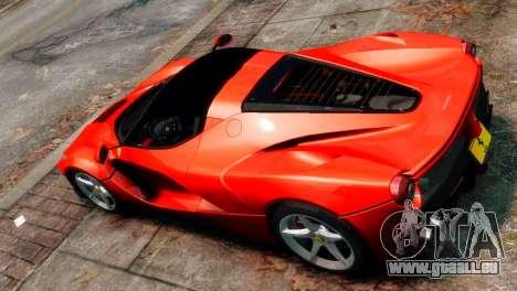 Ferrari LaFerrari für GTA 4 rechte Ansicht