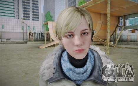 Sherry Birkin Europa from Resident Evil 6 für GTA San Andreas dritten Screenshot