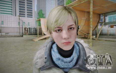 Sherry Birkin Europa from Resident Evil 6 pour GTA San Andreas troisième écran