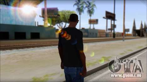Undertaker T-Shirt v2 für GTA San Andreas zweiten Screenshot