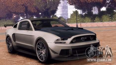 Ford Mustang GT 2014 Custom Kit für GTA 4 rechte Ansicht