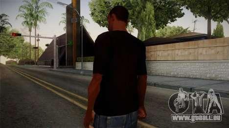 Plants versus Zombies T-Shirt pour GTA San Andreas deuxième écran