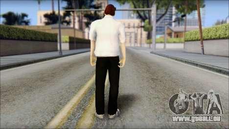 Dean from Good Charlotte für GTA San Andreas zweiten Screenshot