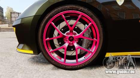 Ferrari 599 GTO PJ3 pour GTA 4 Vue arrière