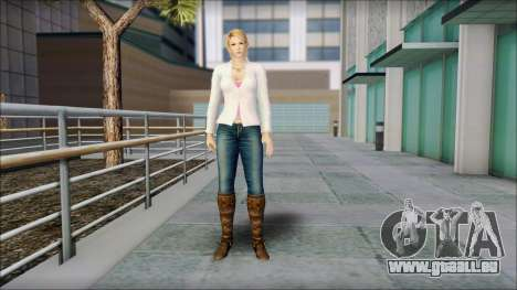 Sarah from Dead or Alive 5 v1 pour GTA San Andreas
