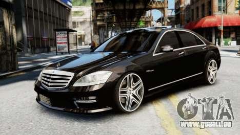 Mercedes-Benz S65 W221 AMG v1.3 pour GTA 4