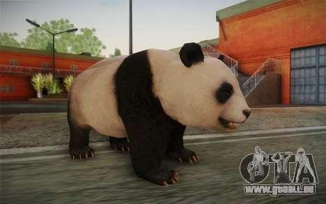 Giant Panda für GTA San Andreas