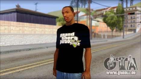 GTA 5 T-Shirt für GTA San Andreas