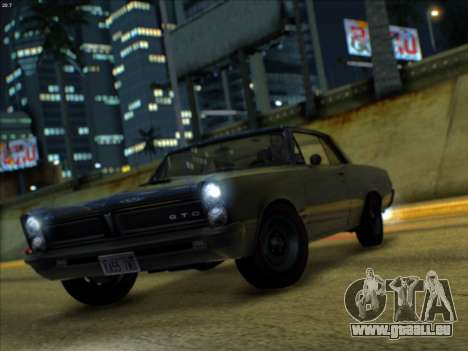 Lime ENB v1.1 pour GTA San Andreas