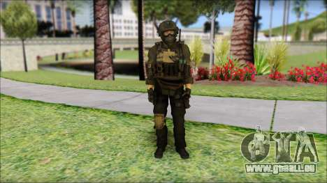 Roach Anderson in Dark Suit from MW2 für GTA San Andreas