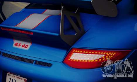 Porsche 911 GT3 RS4.0 2011 pour GTA San Andreas