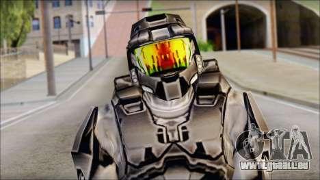 Masterchief Black from Halo für GTA San Andreas dritten Screenshot