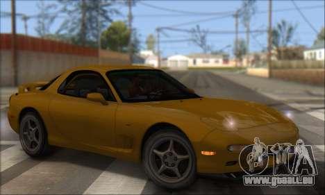 Mazda RX-7 1991 pour GTA San Andreas laissé vue