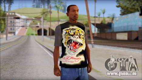 Ed Hardy T-Shirt pour GTA San Andreas