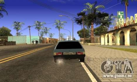 ZAZ Tavria pour GTA San Andreas laissé vue
