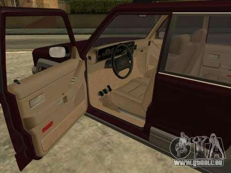Landstalker from GTA 3 pour GTA San Andreas sur la vue arrière gauche