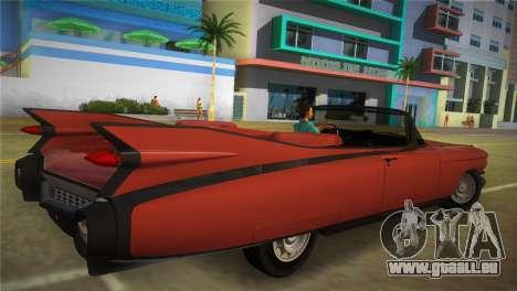 Cadillac Eldorado pour une vue GTA Vice City de la gauche