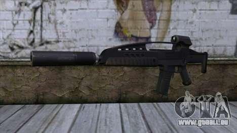 XM8 Assault Black pour GTA San Andreas