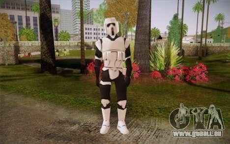 Scout trooper II für GTA San Andreas