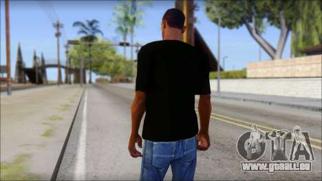 Anarchy T-Shirt Mod v2 pour GTA San Andreas deuxième écran