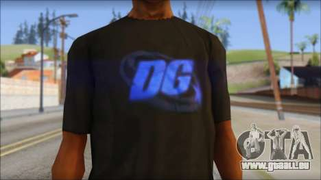 DG Negra T-Shirt für GTA San Andreas dritten Screenshot