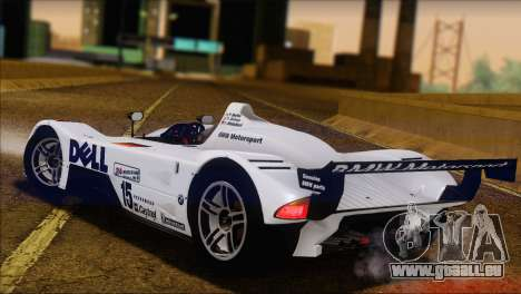 BMW 14 LMR 1999 für GTA San Andreas linke Ansicht