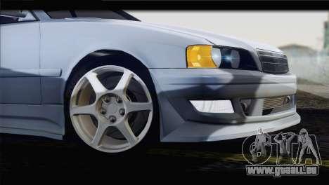 Toyota Chaser Tourer Stock v1 1999 pour GTA San Andreas vue de droite