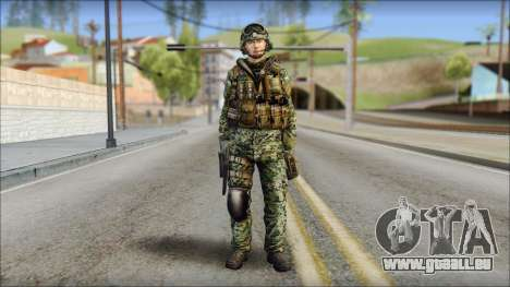 Forest UDT-SEAL ROK MC from Soldier Front 2 für GTA San Andreas