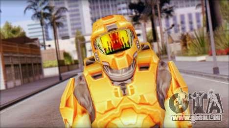 Masterchief Orange für GTA San Andreas