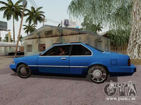 Sentinel Coupe für GTA San Andreas linke Ansicht