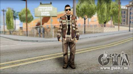 Biker from Avenged Sevenfold für GTA San Andreas
